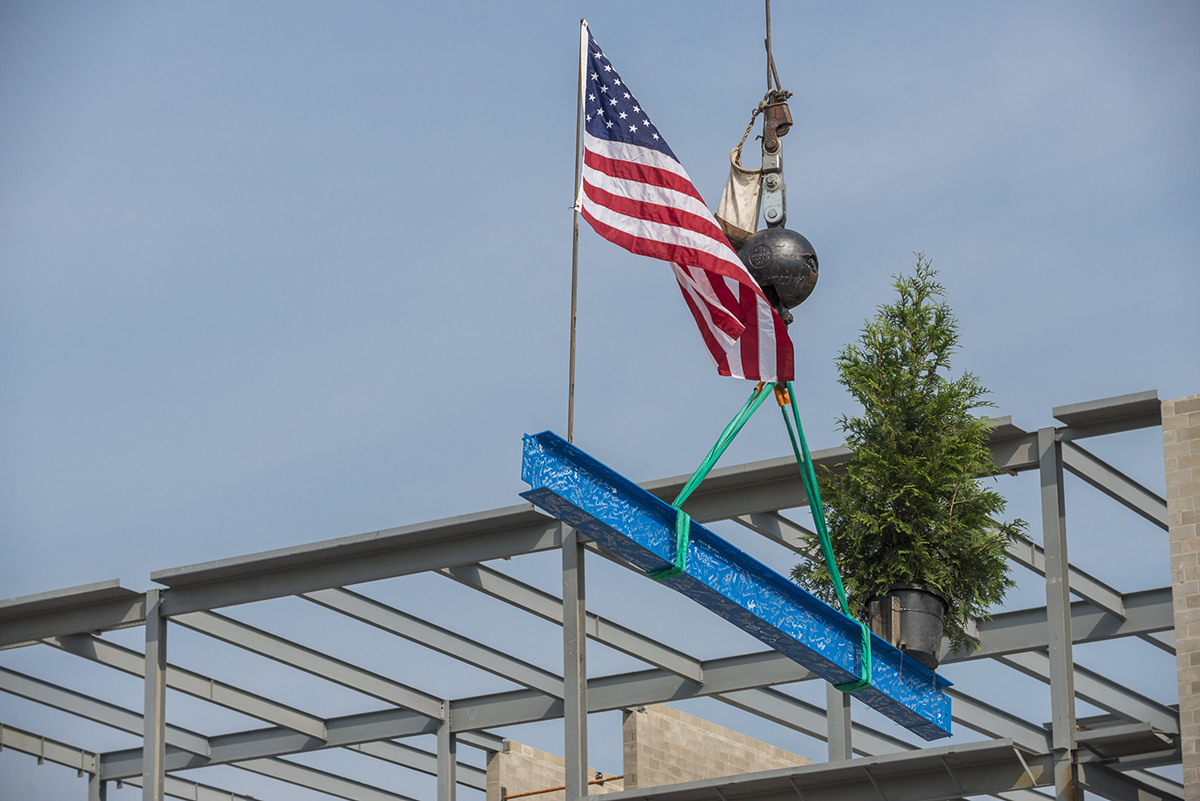 beam topping out ceremony