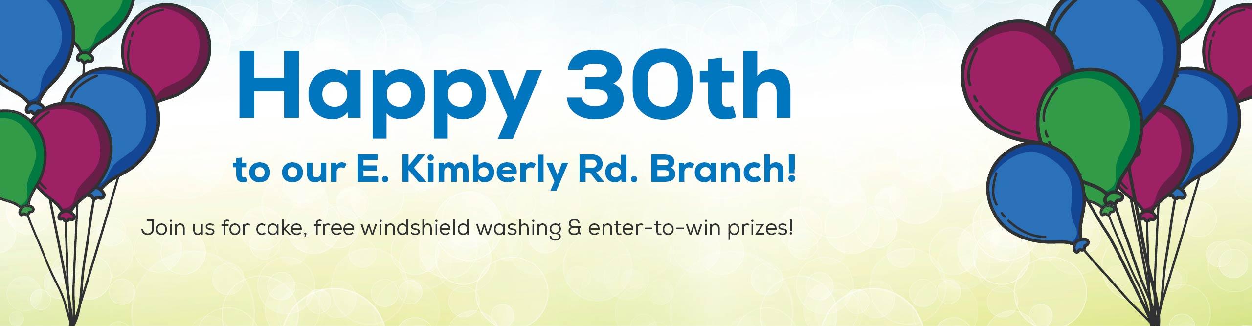 East Kimberly Road 30th Anniversary Celebration