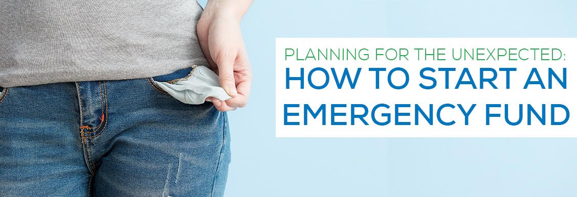 emergency fund header