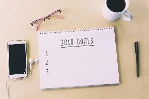 2018 new year's resolutions list