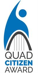 Quad Citizen of the Year Award Logo