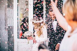 This couple got married on a budget