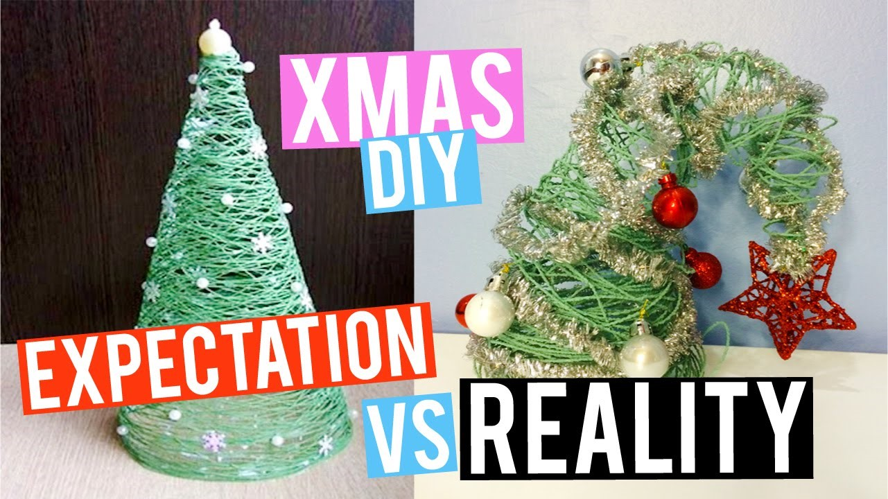 DIY Christmas tree fail