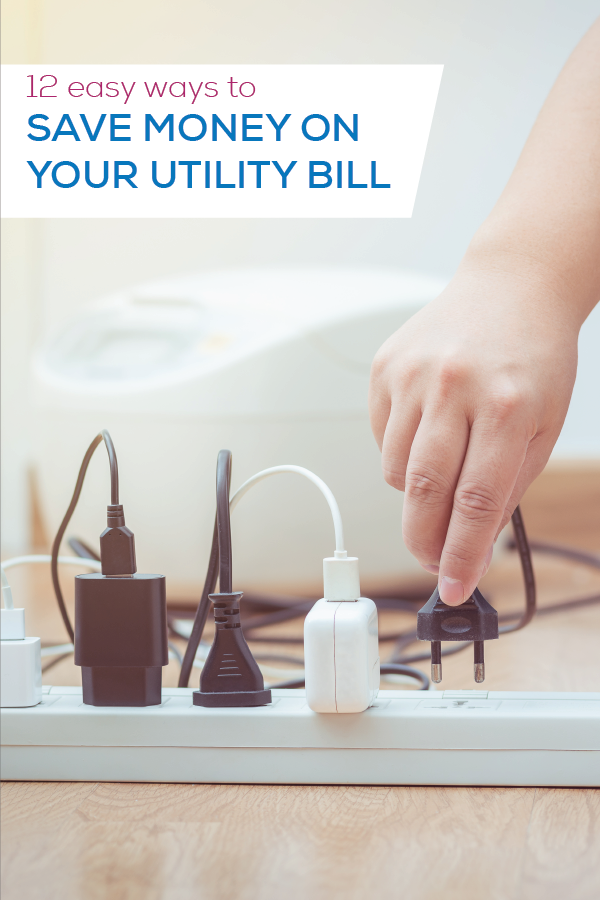 12 ways to save on your utility bill