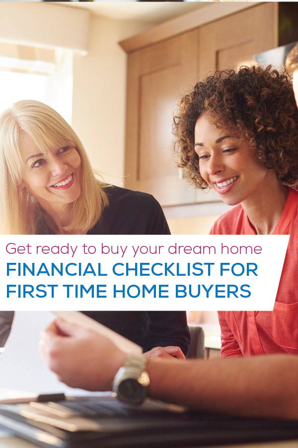 checklist for first time buyers image for pinterest