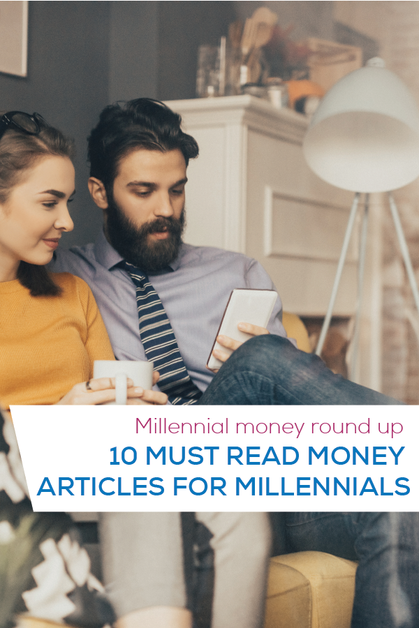 millennial money curated articles pinterest image