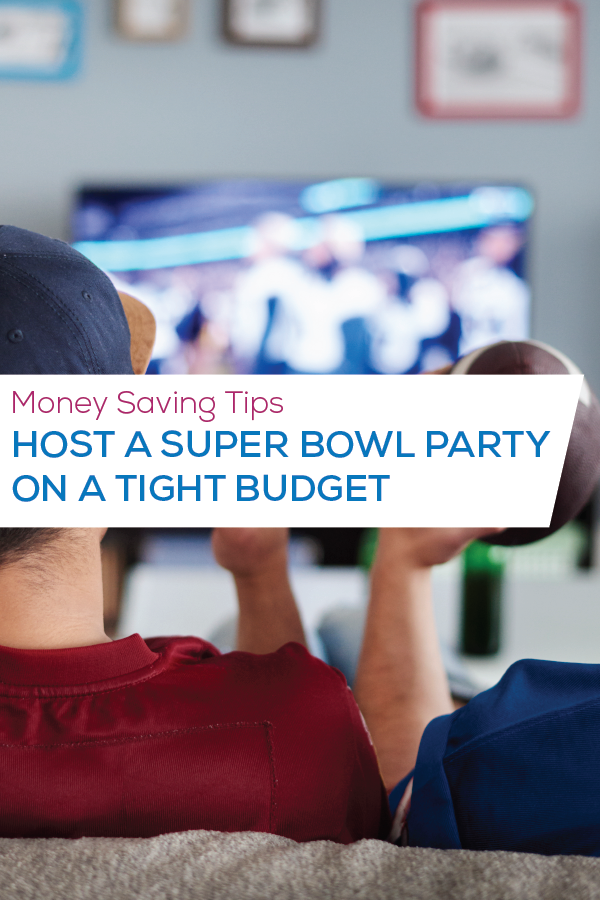 superbowl party pinterest image