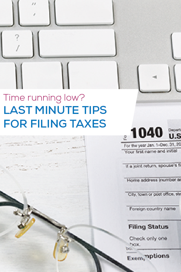 tax tips image for pinterest