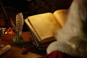 Santa's naughty or nice list