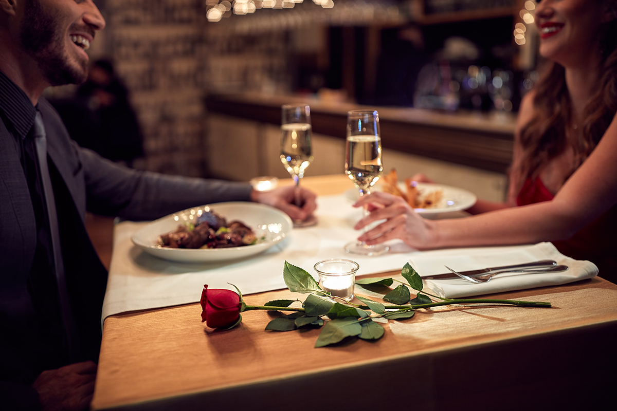 couple spending too much on a valentine's date