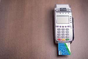 ihmvcu chip debit card in chip reader terminal