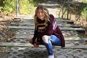 Mackenzie on college campus